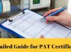 Detailed Guide for PAT Certificate
